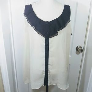 Maurices Sleeveless Top Blouse